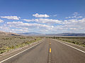 2014-09-09 15 54 01 View east along U.S. Route 50 about 46.8 miles east of the Lander County line in Eureka County, Nevada.JPG