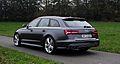 2014 Audi S6 Avant C7 Typ 4G V8 4.0 TFSI quattro Facelift Daytonagrau-Perleffekt Heckansicht.jpg