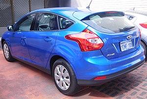 Ford Focus (third generation) - Hatchback (pre-facelift)