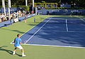 2014 US Open (Tennis) - Qualifying Rounds - James Ward and Vincent Millot (15035632415).jpg