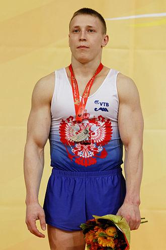 Denis Ablyazin - Ablyazin at the 2015 European Championships