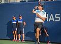 2015 US Open Tennis - Qualies - Jose Hernandez-Fernandez (DOM) def. Jonathan Eysseric (FRA) (20965757605).jpg