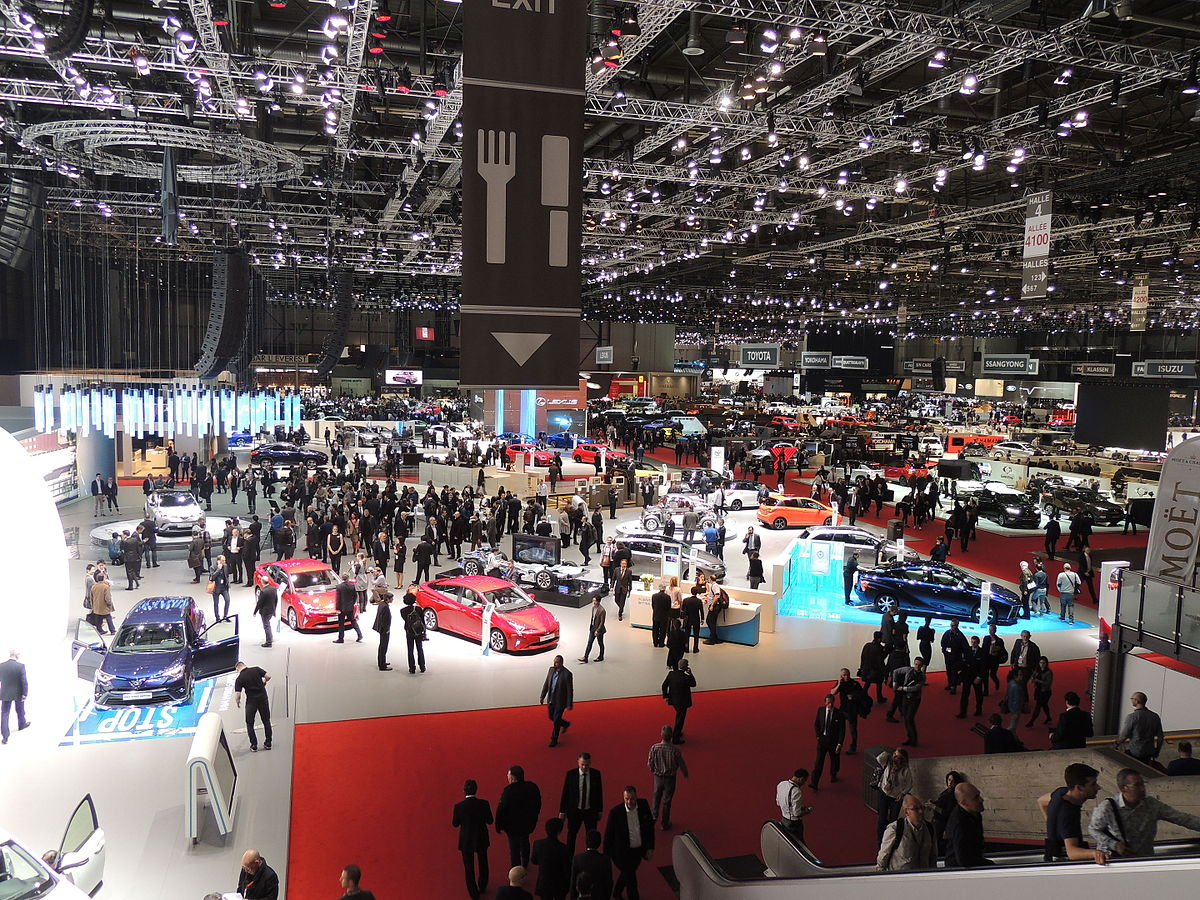 Salon international de l 39 automobile de gen ve 2016 wikip dia for Salon de l auto geneve tarif