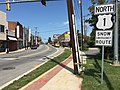2016-09-05 13 15 26 View north along U.S. Route 1 (Baltimore Avenue) at Farragut Street in Hyattsville, Prince Georges County, Maryland.jpg