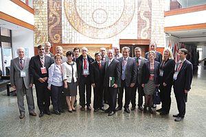 University Alliance of the Silk Road - Image: 2016.4校庆丝路联盟理事会合影