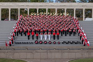 Western Kentucky Big Red Marching Band - Image: 2016 BRMB
