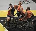 2016 Invictus Games, US Wheelchair Basketball Team plays the Netherlands 160512-D-BB251-003.jpg