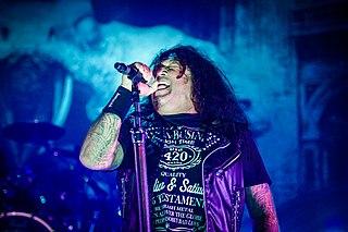Chuck Billy (vocalist) American vocalist
