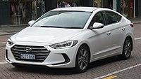 2017 Hyundai Elantra (AD) Elite sedan (2017-12-09) 01.jpg