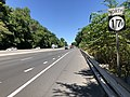 2018-07-19 12 14 27 View north along New Jersey State Route 17 just north of Bergen County Route 90 (Allendale Avenue) in Saddle River, Bergen County, New Jersey.jpg
