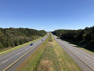 Warren County, Virginia - I-66 in Warren County