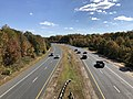 2018-10-30 13 05 52 View south along Virginia State Route 286 (Fairfax County Parkway) from the overpass for Virginia State Route 611 (Telegraph Road) in Newington, Fairfax County, Virginia.jpg