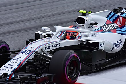 Robert Kubica, pilote-essayeur chez Williams, au volant de la Williams FW40.