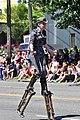 2018 Fremont Solstice Parade - 157-steampunk contingent, stilter (43391973442).jpg