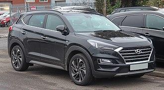 Sport utility vehicle - Hyundai Tucson