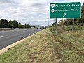 2019-09-17 13 18 30 View west along Virginia State Route 7 (Leesburg Pike) at the exit for Virginia State Route 286 (Fairfax County Parkway) and Virginia State Route 6220 (Algonkian Parkway) in Fairfax County, Virginia.jpg