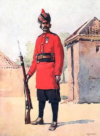 14th Punjab Regiment - Image: 22nd Punjabis (7 Punjab) 1910