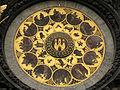 233 Rellotge astronòmic de l'Ajuntament, calendari i escut de Praga.jpg