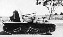 An Australian 2 pounder anti-tank gun carrier (AWM 134672)