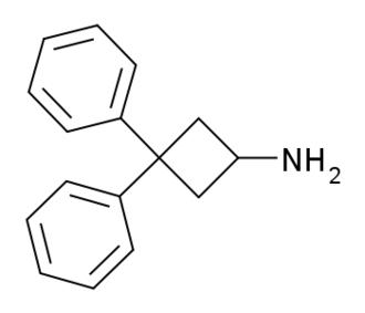 3,3-Diphenylcyclobutanamine - Image: 3,3 Diphenylcyclobutanam ine