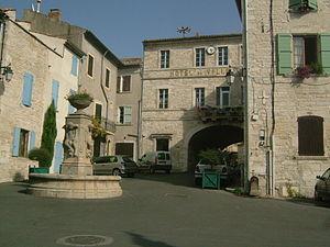 Barjac, Gard - Town hall