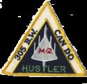 305th Bombardment Wing - B-58 - Emblem