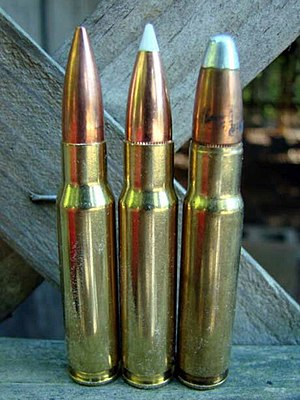 .358 Winchester - Image: 338 Federal cartridges