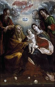 Holy Family with Saints Anna and Joachim