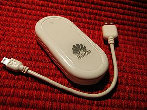 Mobile broadband modem - Huawei CDMA2000 Evolution-Data Optimized USB wireless modem