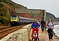 43029 and 43 number 160 Plymouth to Theale 1A87 at Dawlish (37748348936).jpg