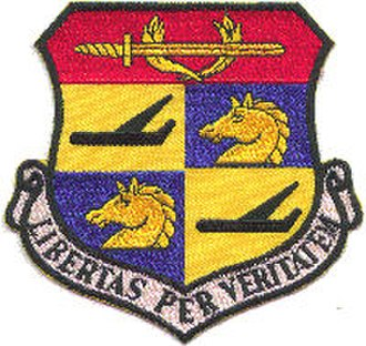 480th Intelligence, Surveillance and Reconnaissance Wing - Emblem of the 580th Air Resupply and Communications Wing