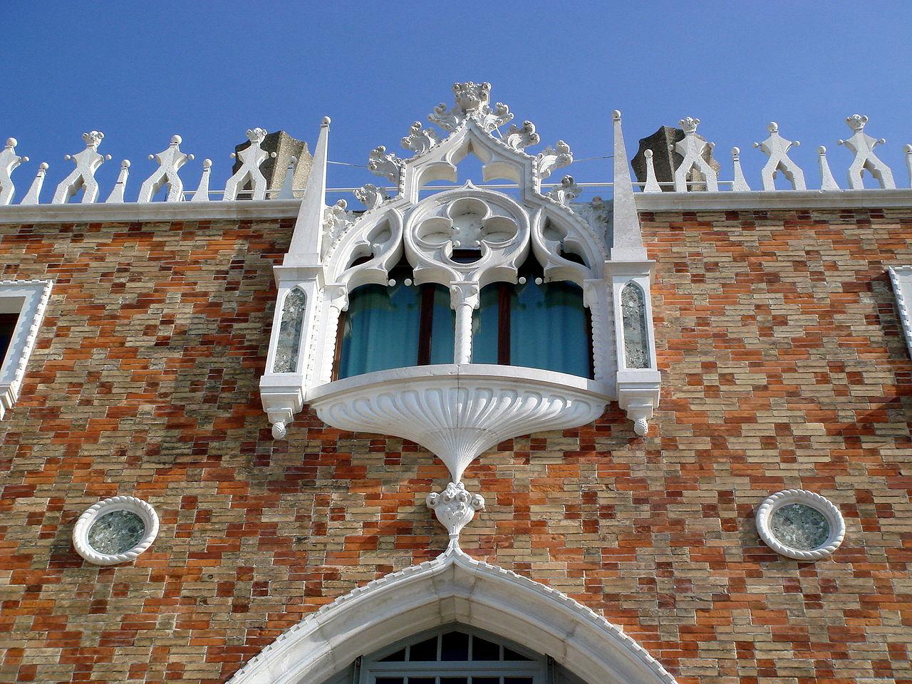 File 5822 venezia giudecca mario de maria casa dei for Casa revival gotica