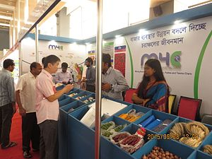 Agriculture in Bangladesh - Visitor in Agro Tech fair in Dhaka