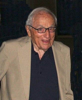 Walter Bernstein - Bernstein following a 2016 screening of The Front at the SVA Theater in Manhattan