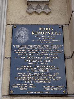 Wikizero Maria Konopnicka