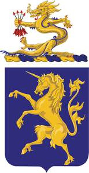 6th Cavalry Regiment - Coat of arms
