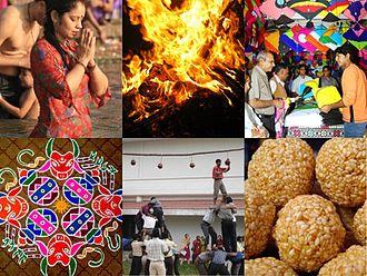Makar Sankranti - Festive celebrations of Makar Sankranti