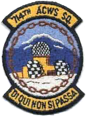 Cold Bay Air Force Station - Emblem of the 714th Aircraft Control and Warning Squadron