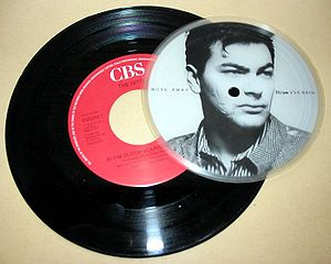 "Jon Moss -  Moss on a Move Away Culture Club 7"" vinyl"