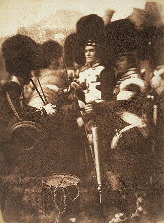 92nd (Gordon Highlanders) Regiment of Foot - 92nd Gordon Highlanders at Edinburgh Castle, 1846