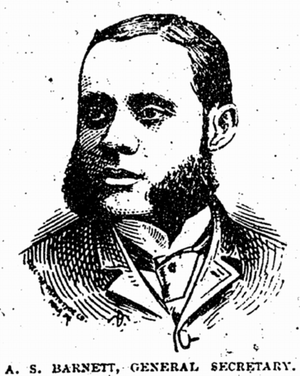 Alfred S. Barnett - Phototype from the Progress, June 21, 1890