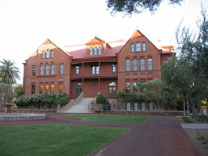 Arizona State University Tempe campus - Image: ASU Old Main