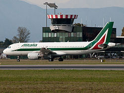 Un A320 à Turin