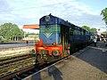 A WDP1 loco at Gudivada Train station.jpg