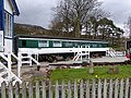 A carriage at the 'Sleeperzzz ' hostel, adjacent to Rogart station - geograph.org.uk - 6105297.jpg