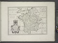 A new map of France, shewing its principal divisions, cheif cities, townes, ports, rivers, mountains etc NYPL1630704.tiff