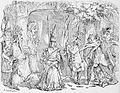 A party of mummers, Robert Chambers, The Book of Days, vol II, 1864.jpg