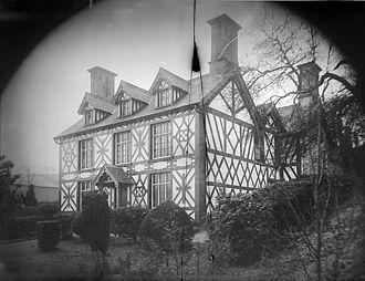 Carno - Carno house, c.1885.