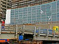 A view on the construction of large windows, Municipal Library OBA, Amsterdam City in 2006.jpg