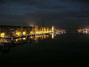 open by night aalborg